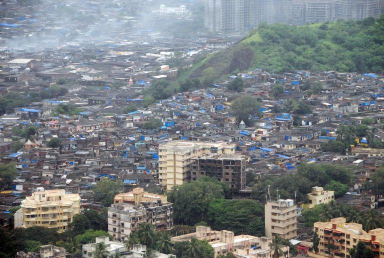 Mumbai Slum Bombay, India
