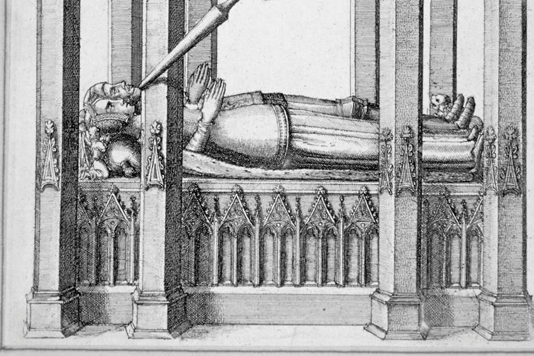 Monument of John of Gaunt and Constance of Castile, Old St. Paul's, London