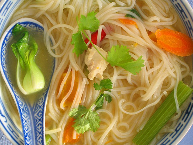 Thai Chicken Noodle Soup Recipe