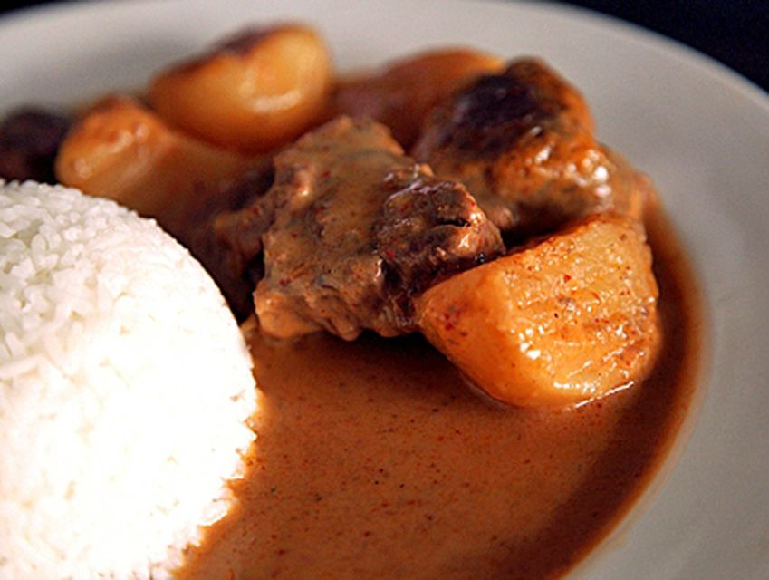 Thai Beef Curry, lovely flavors!