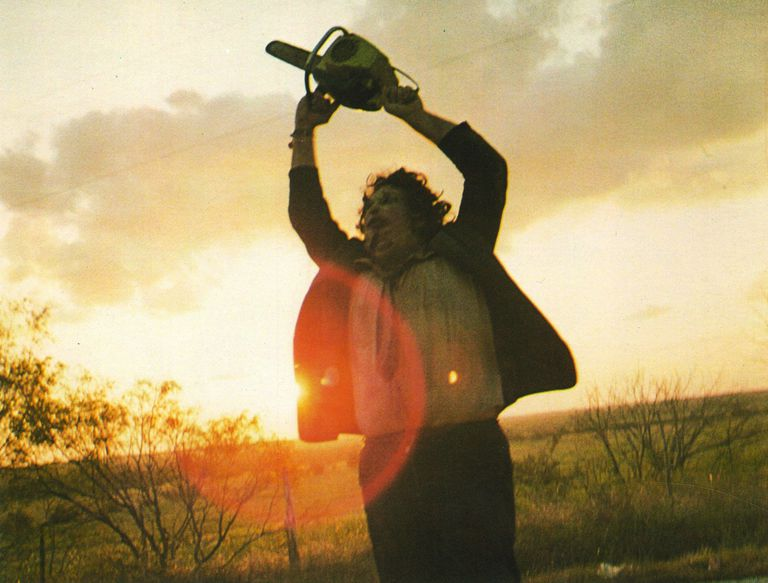 A scene from 'The Texas Chainsaw Massacre'.
