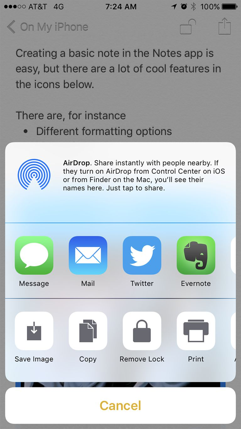 sharing notes on iphone iphone notes everything you need to 8745