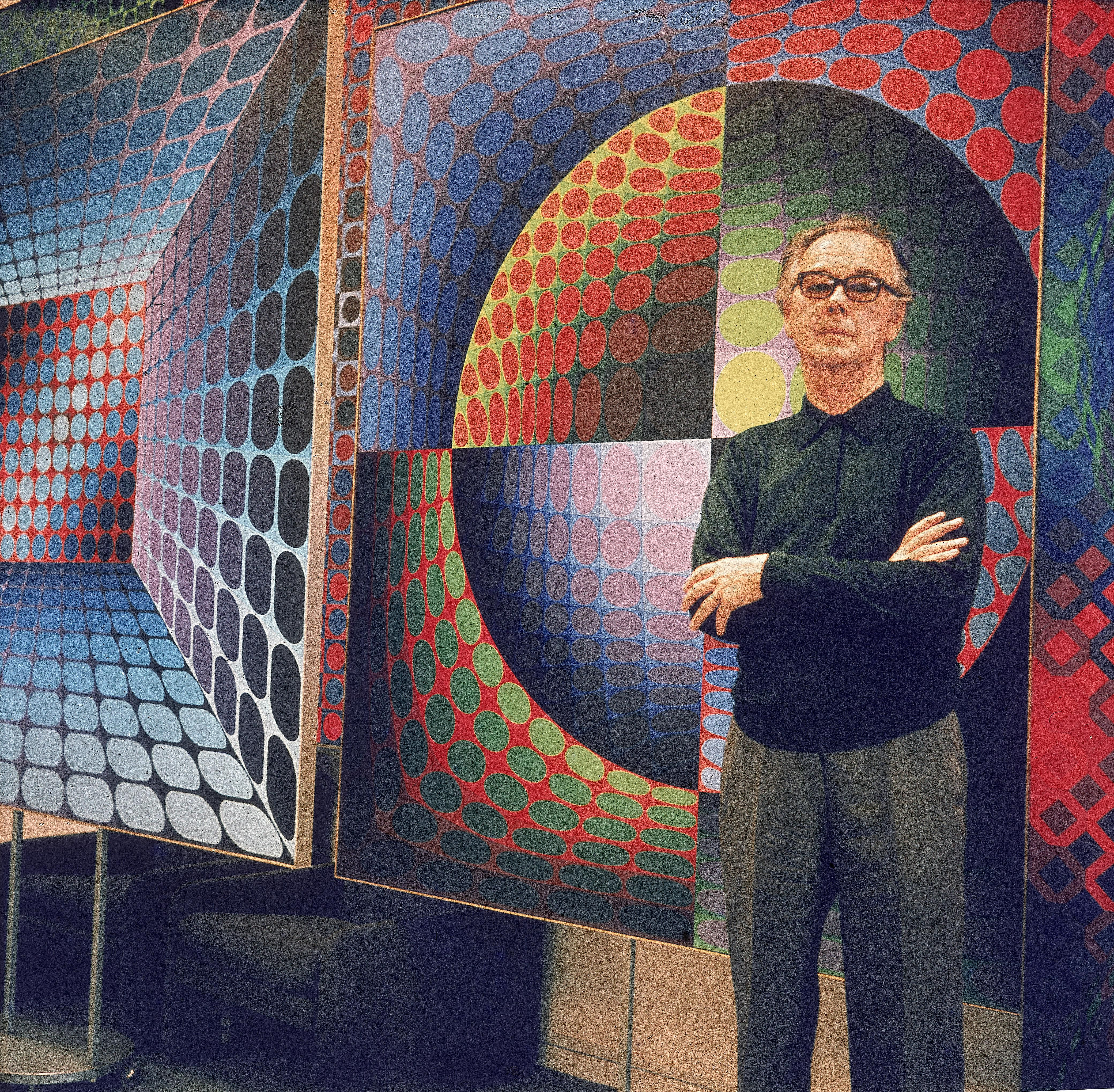 Victor Vasarely, Leader of the Op Art Movement