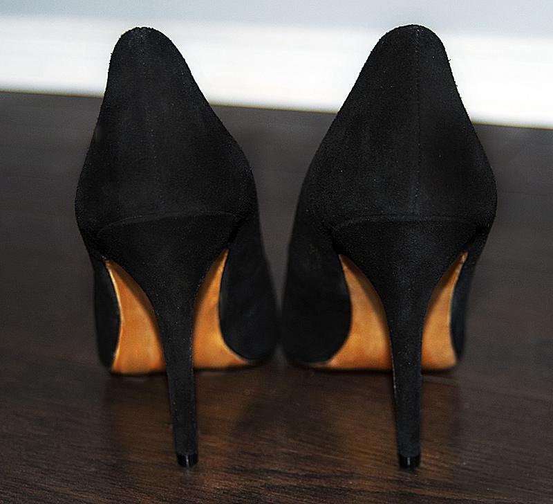 DIY Painted Shoe Heels