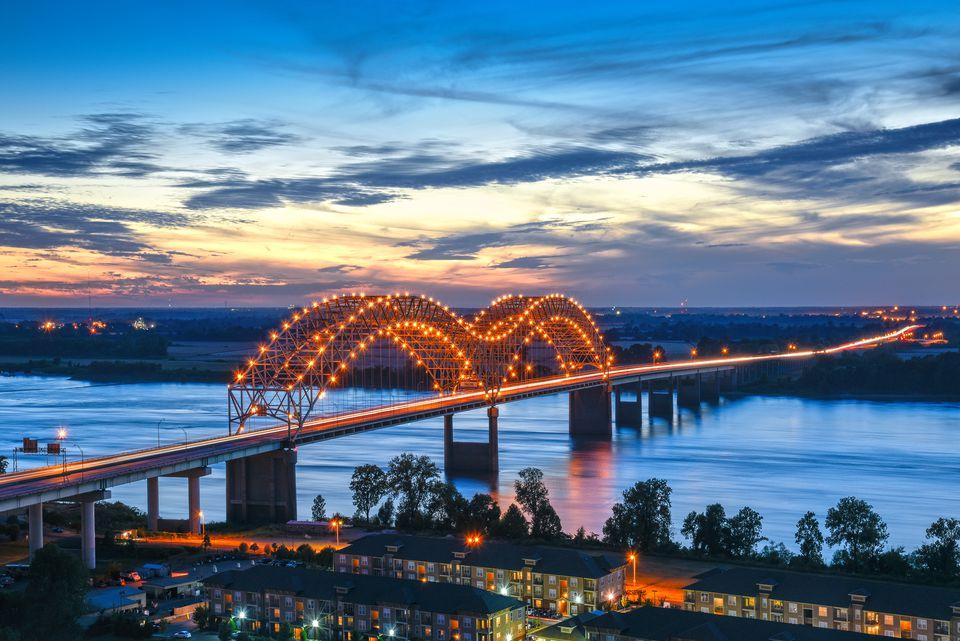 Hernando de Soto Bridge, Memphis, Tennessee