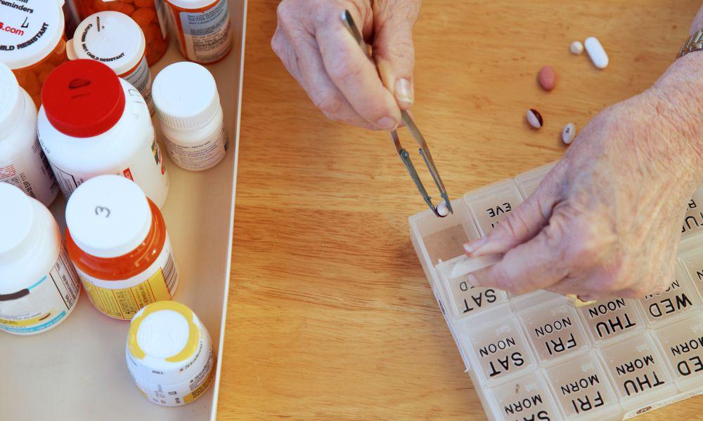 Pill Organizing