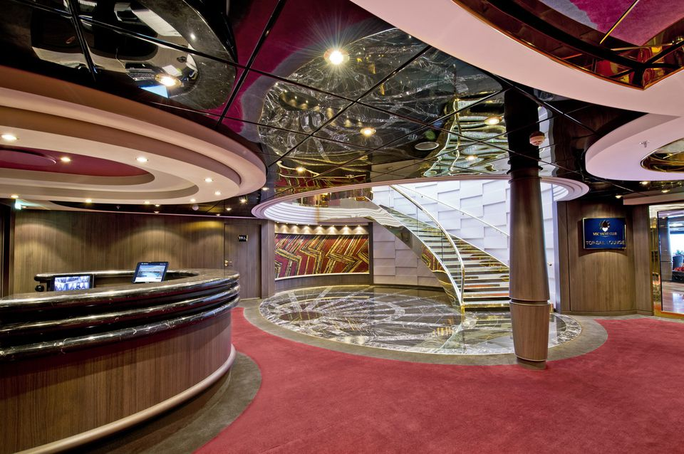 MSC Divina Yacht Club - Concierge Desk and Reception Area