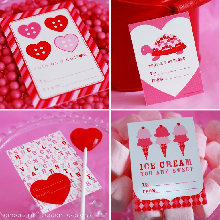 11 Free Printable Valentines for Valentines Day – Create Your Own Valentine Card Online