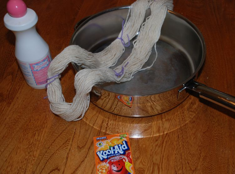kool-aid yarn dyeing supplies