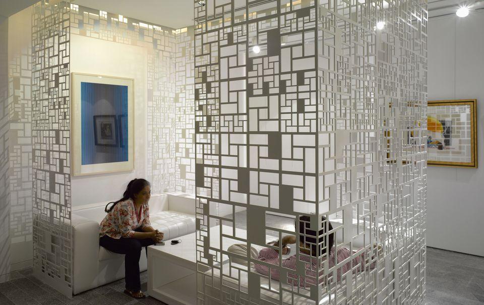 Delhi art gallery.
