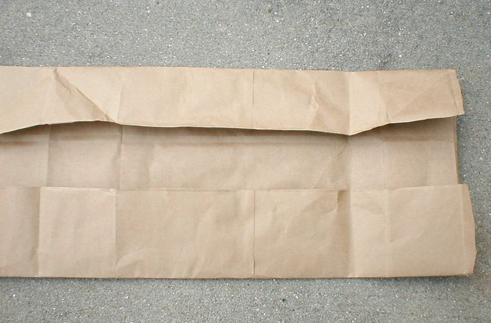 How To Make A Book Cover With A Paper Bag : How to make a book cover with paper bag