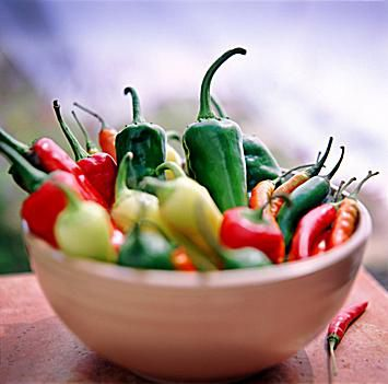Bowl of Chiles