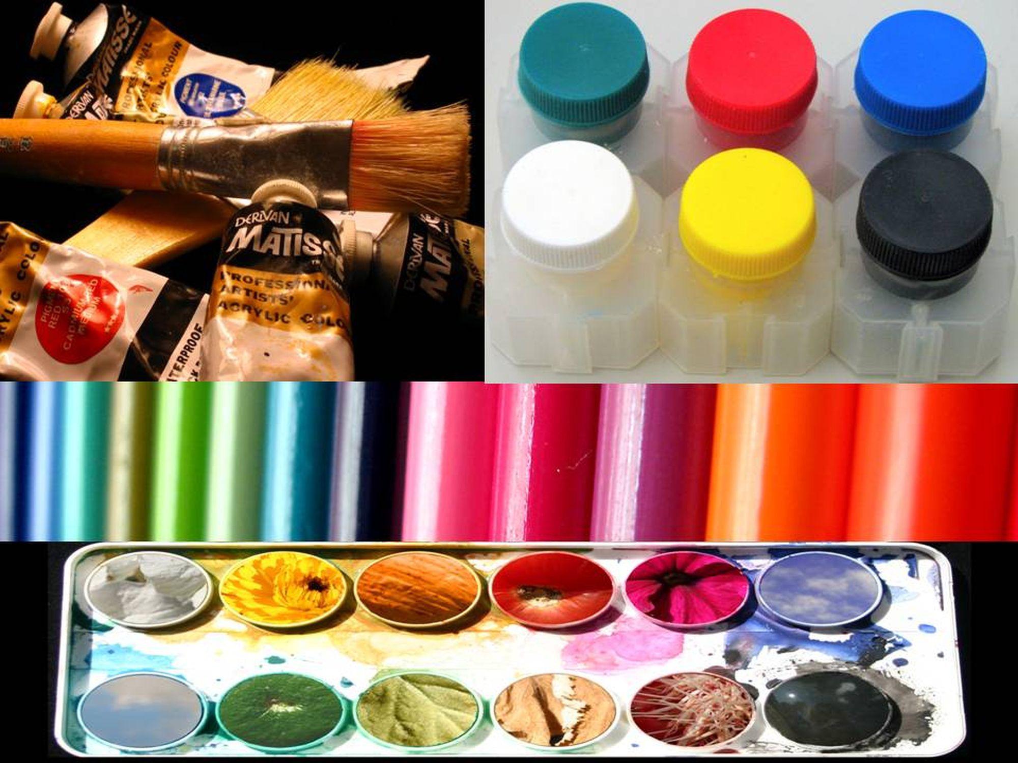 Diferentes tipos de pinturas para manualidades for Pinturas para decorar