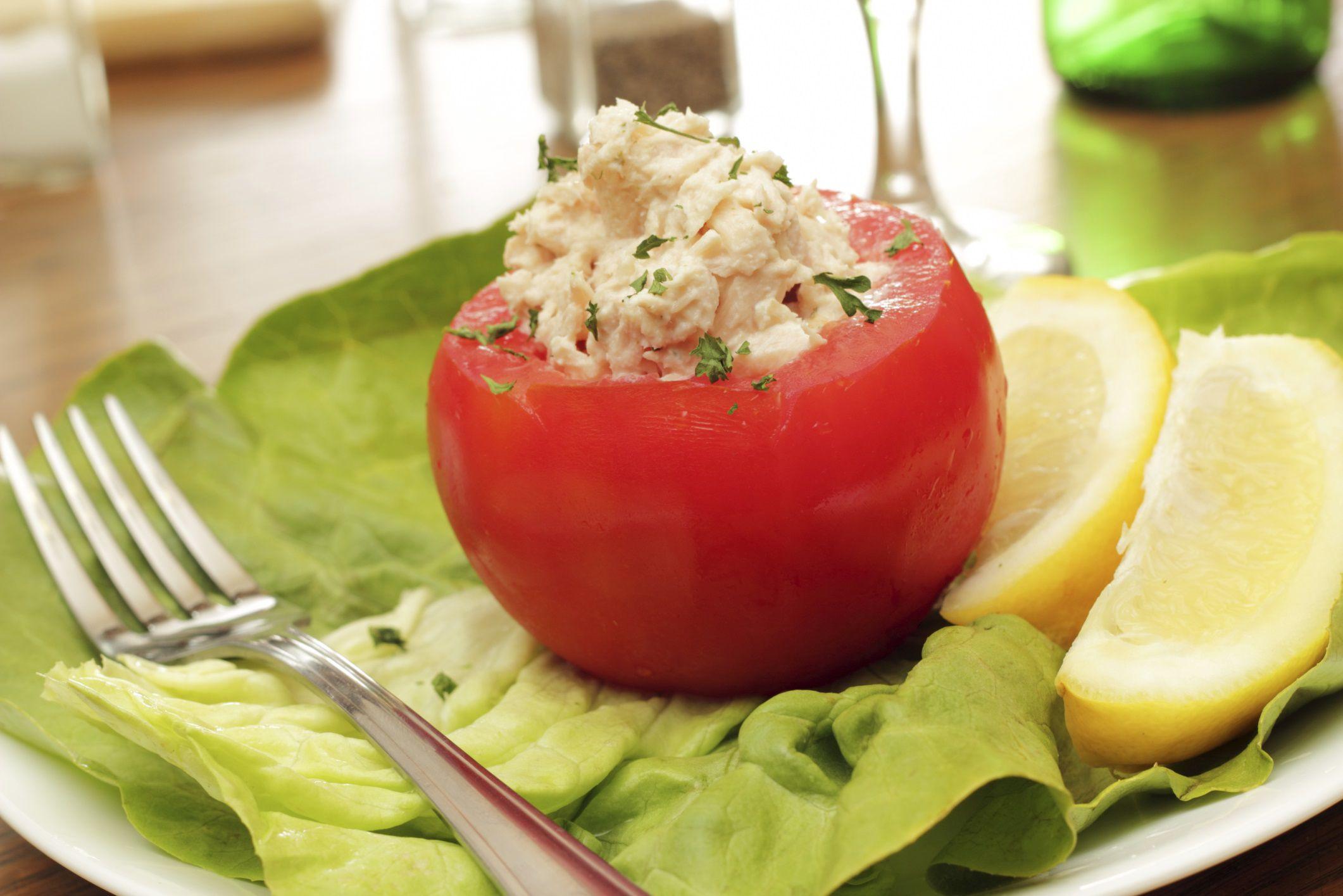 Low-Carb Tuna Walnut Salad Recipe