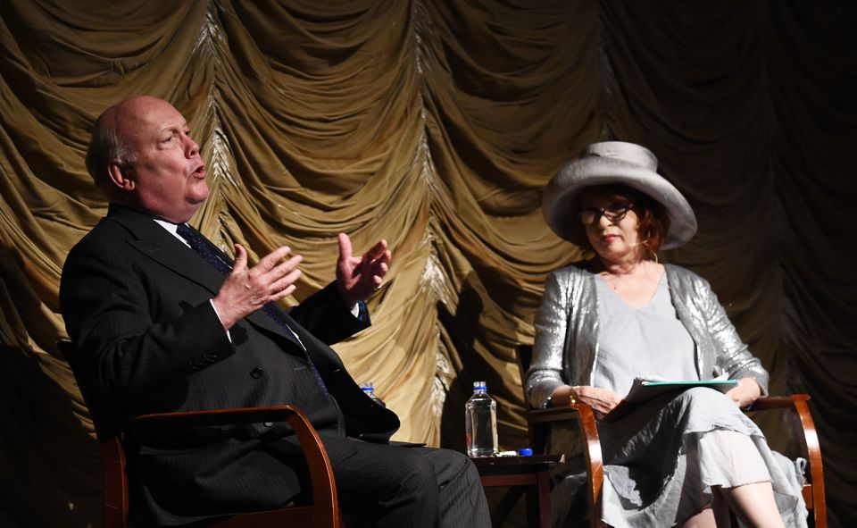 LACMA And Writers Bloc Present Julian Fellowes In Conversation With Patt Morrison