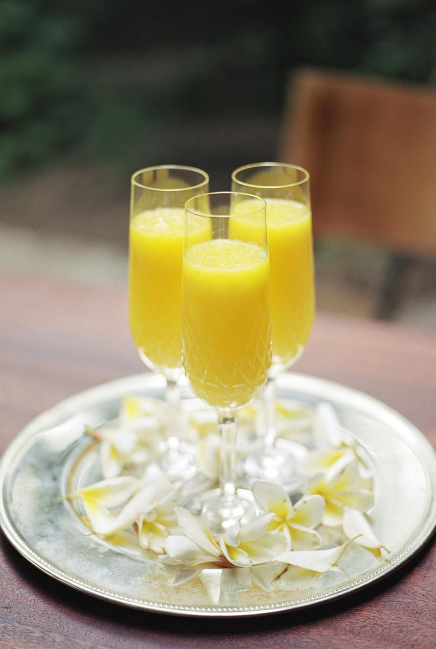 The Perfect Mimosa Recipe To Serve At Brunch