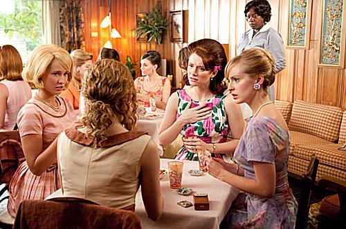 Emma Stone, Ahna O'Reilly, Bryce Dallas Howard and Anna Camp photo from The Help