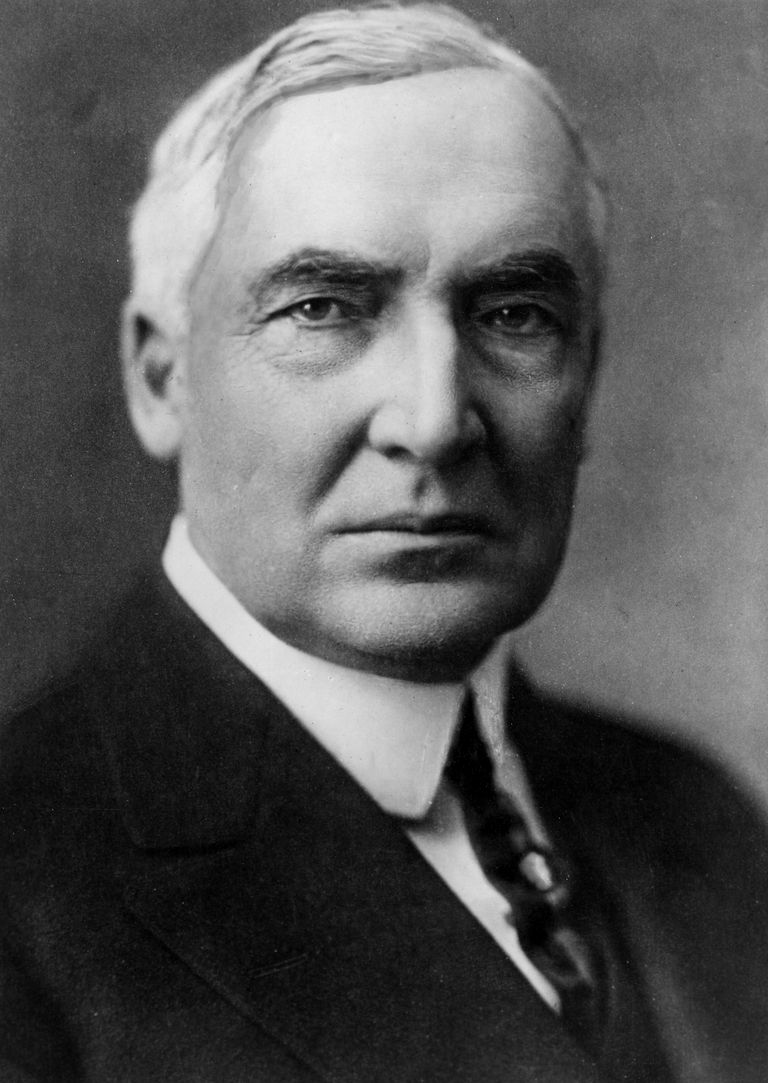 a life and work biography of warren harding In fact, the common view of warren g harding was that more than anything he   of her life she was possessed with her husband's career and place in history.