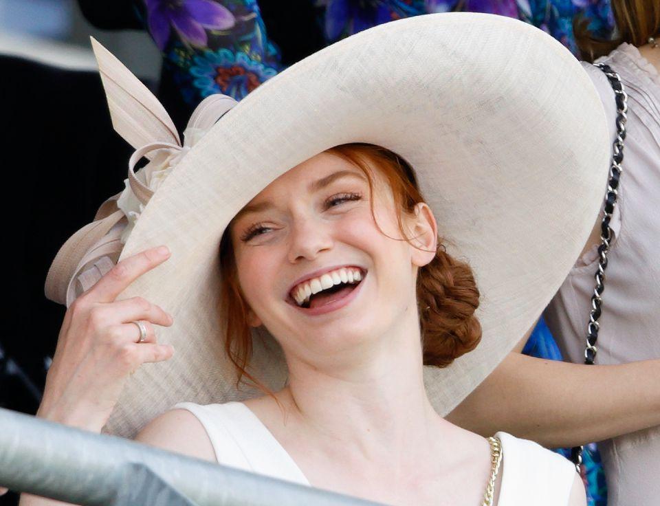 Eleanor Tomlinson at Royal Ascot