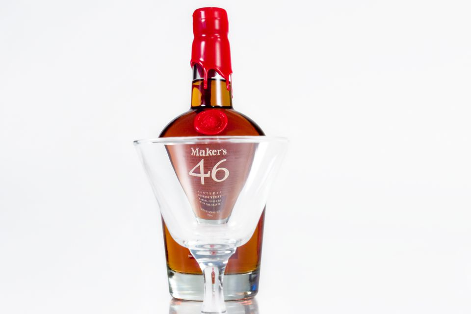 Maker's 46 Bourbon Whiskey by Maker's Mark
