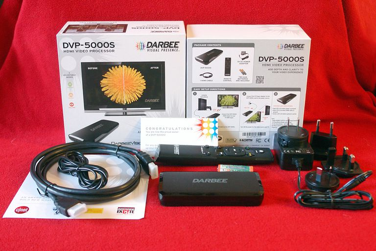 Darbee Visual Presence - DVP-5000S Video Processor - Package Contents