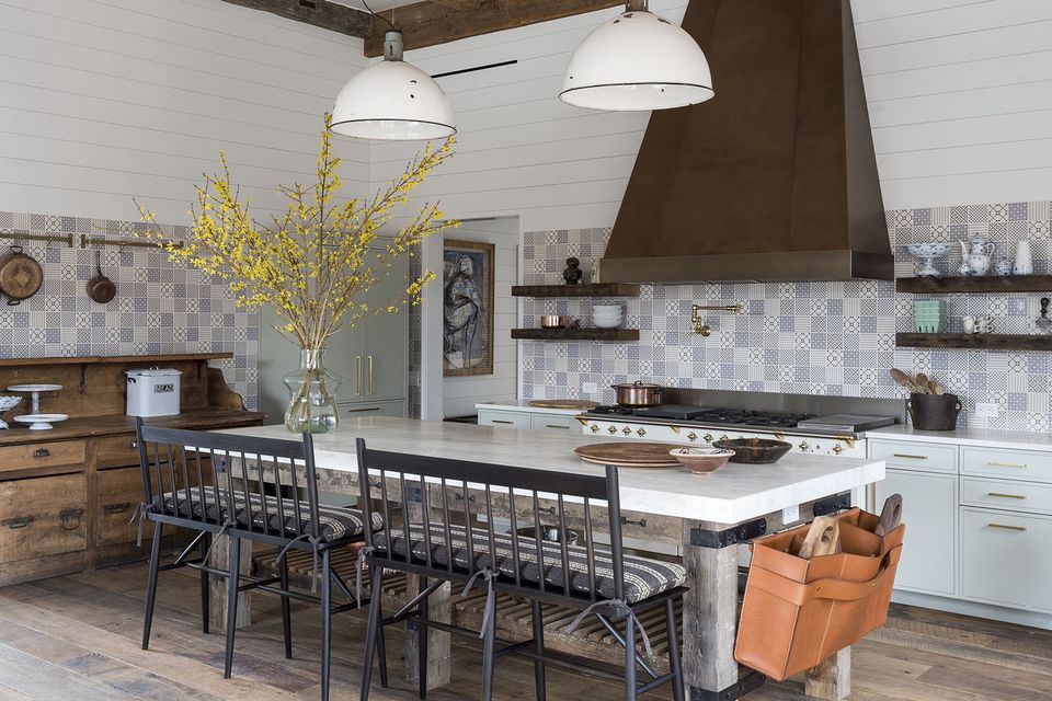 Gorgeous modern farmhouse kitchen