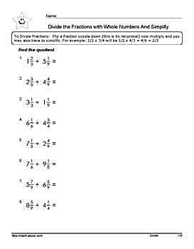 Worksheet 1 of 7