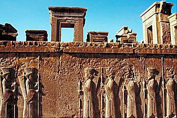 Achaemenid Bas-Relief Art From Persepolis