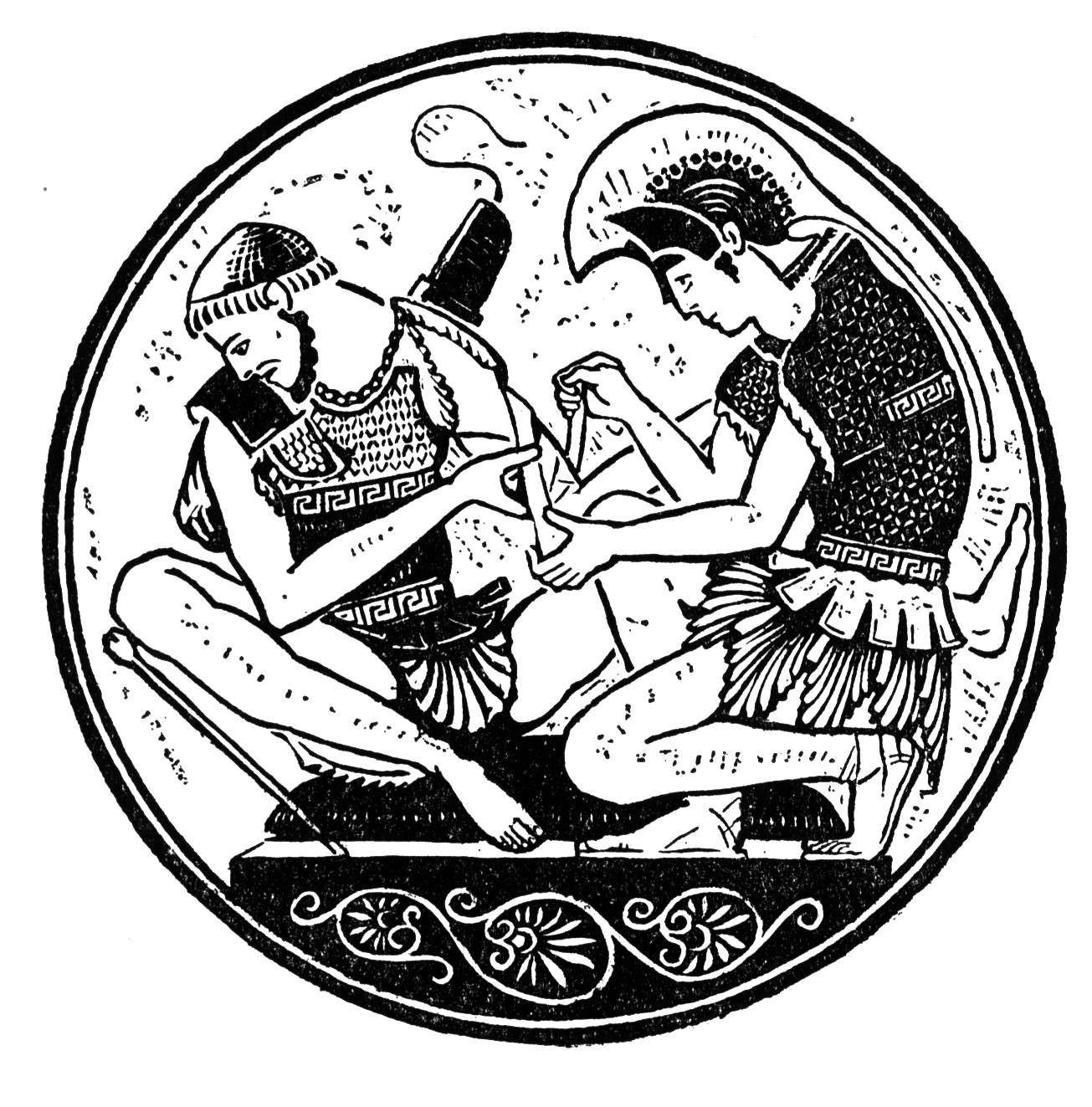 learn about achilles through pictures