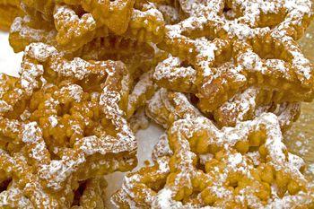 Making Rosette Cookies