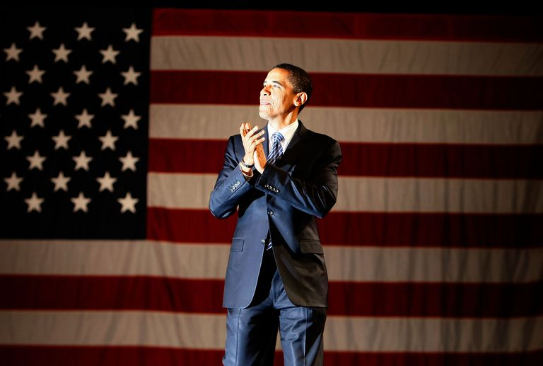 A Portrait of Barack Obama