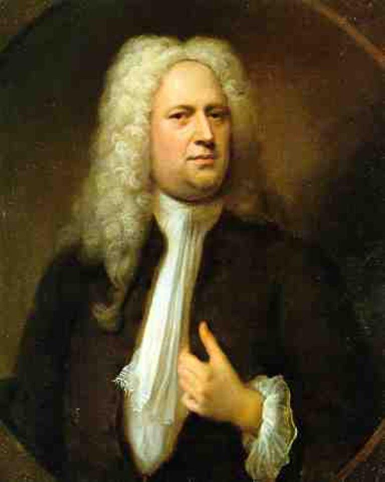 Portrait of Georg Friedrich Händel