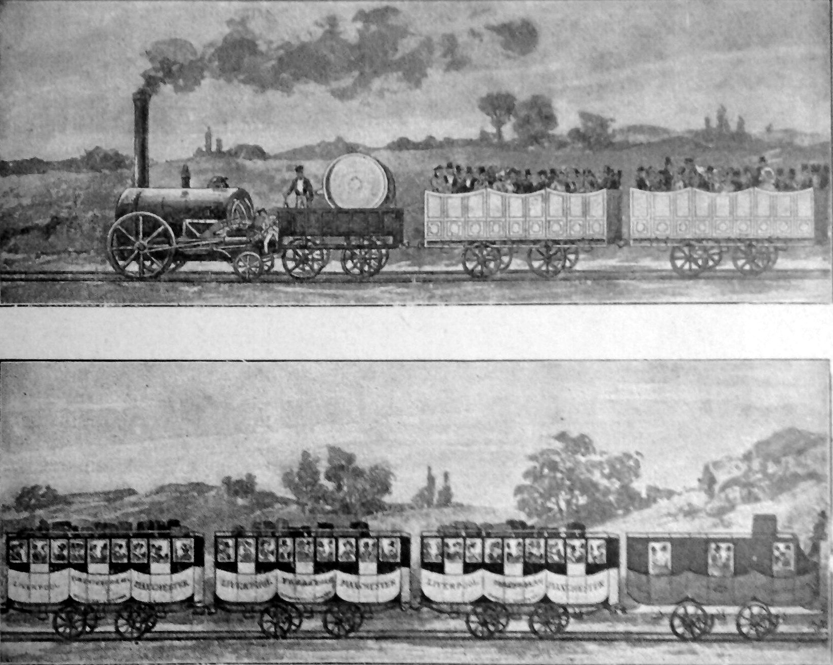Who Invented the Steam Locomotive Engine?