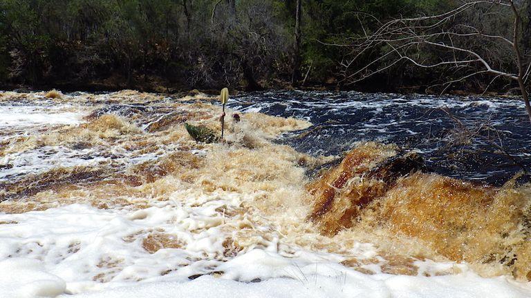 Kayaking Big Shoals