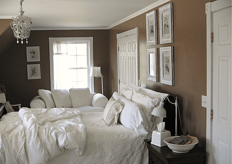 Brown and White Combination  Eclectic Bedroom by pliligry blogspot com. Brown Bedroom Inspiration  Great Ideas and Tips