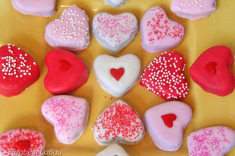 Fudge Hearts