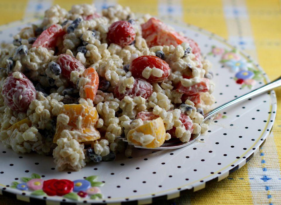 Barley Black Bean Salad
