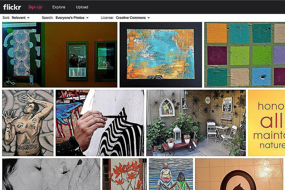 Flickr Wall Art Page Results