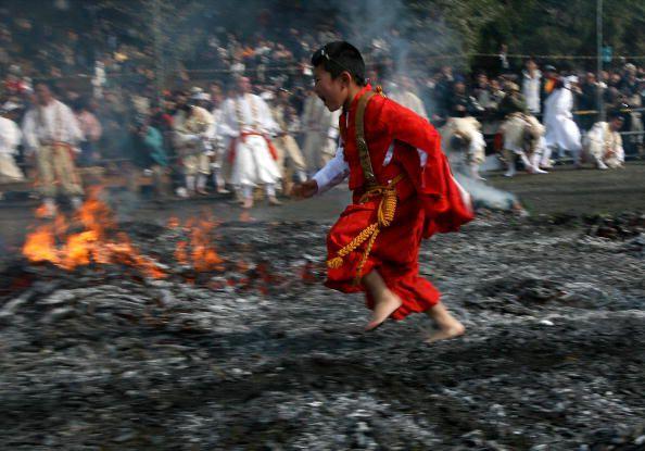 Firewalking - Fire Walking