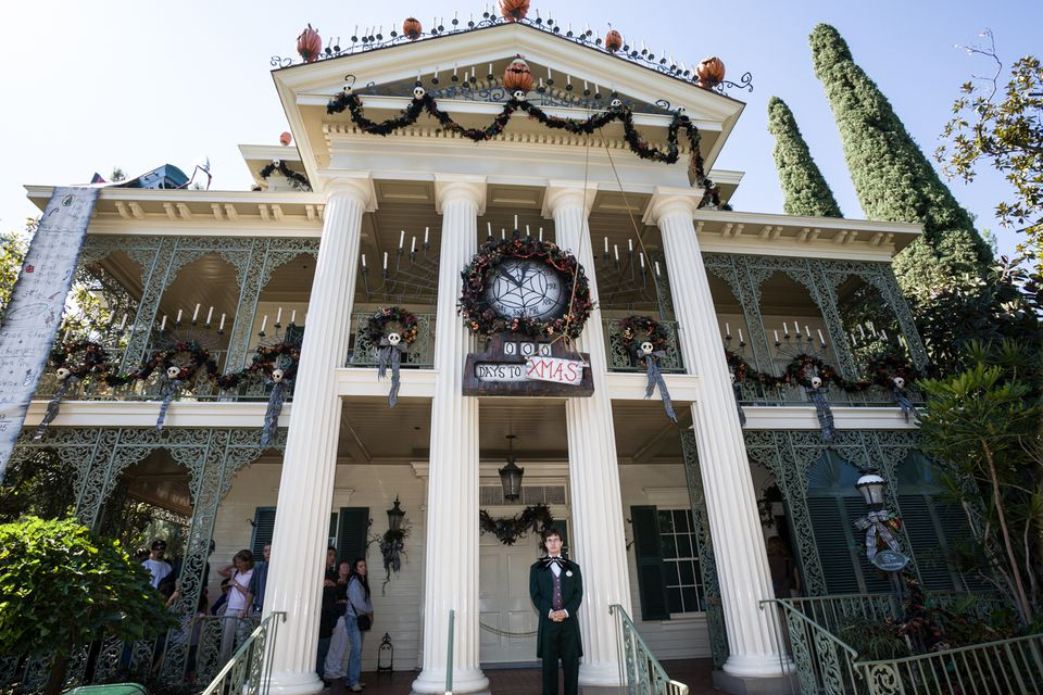 The Haunted Mansion at Disneyland, California