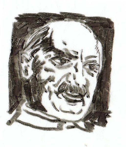 Martin Heidegger por Herbert Wetterauer