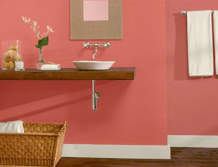 Awesome Paint Color Ideas For Your Powder Room Or Any Small Bathroom