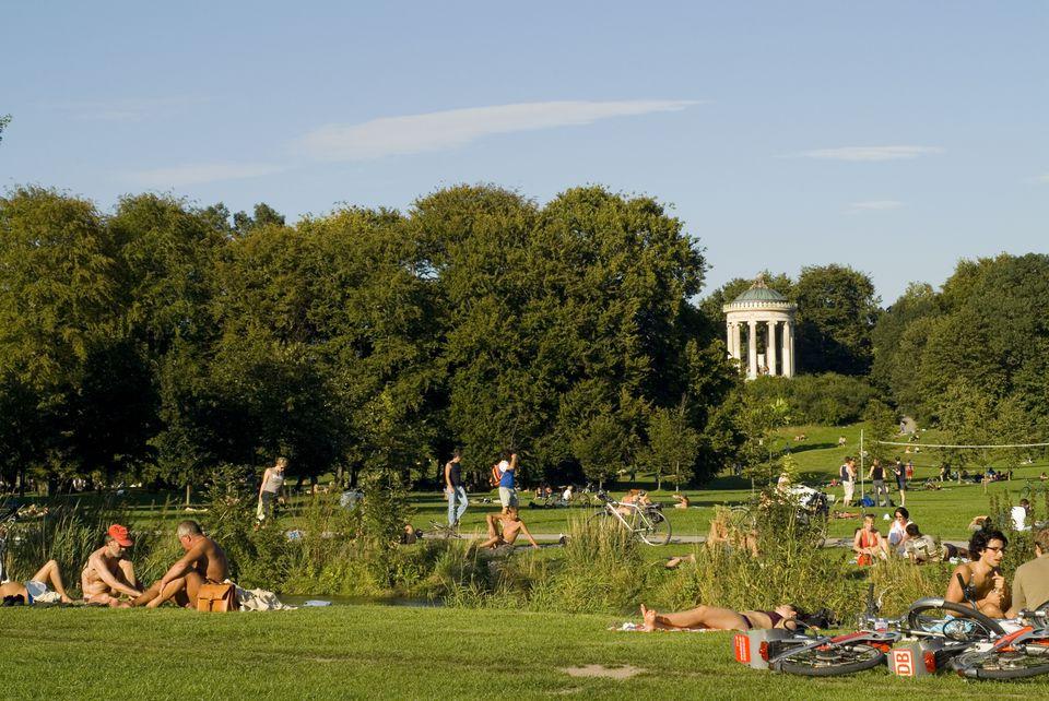 Munich's English Garden