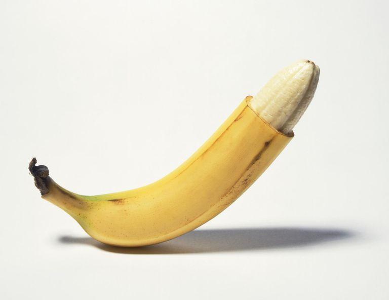 Circumcised banana