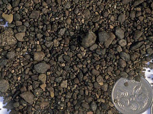 Ironstone pebbles