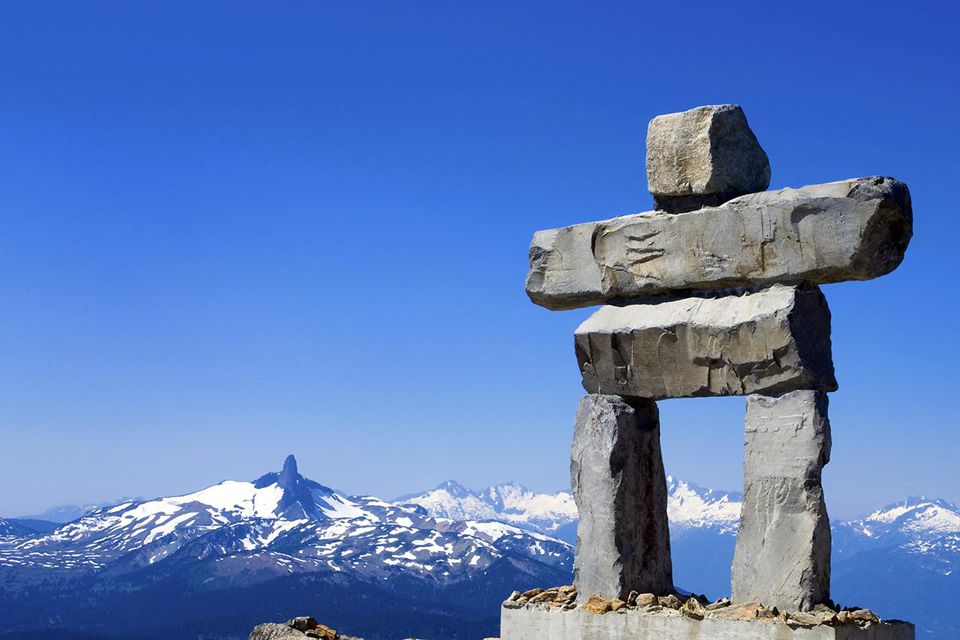 Whistler Mountain Inukshuk