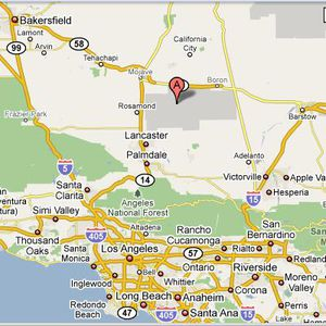 Edwards Air Force Base California Overview