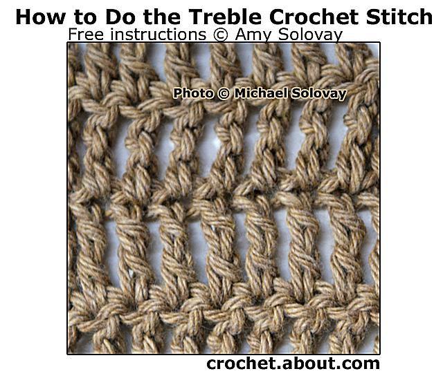 Treble Crochet Stitch Uk