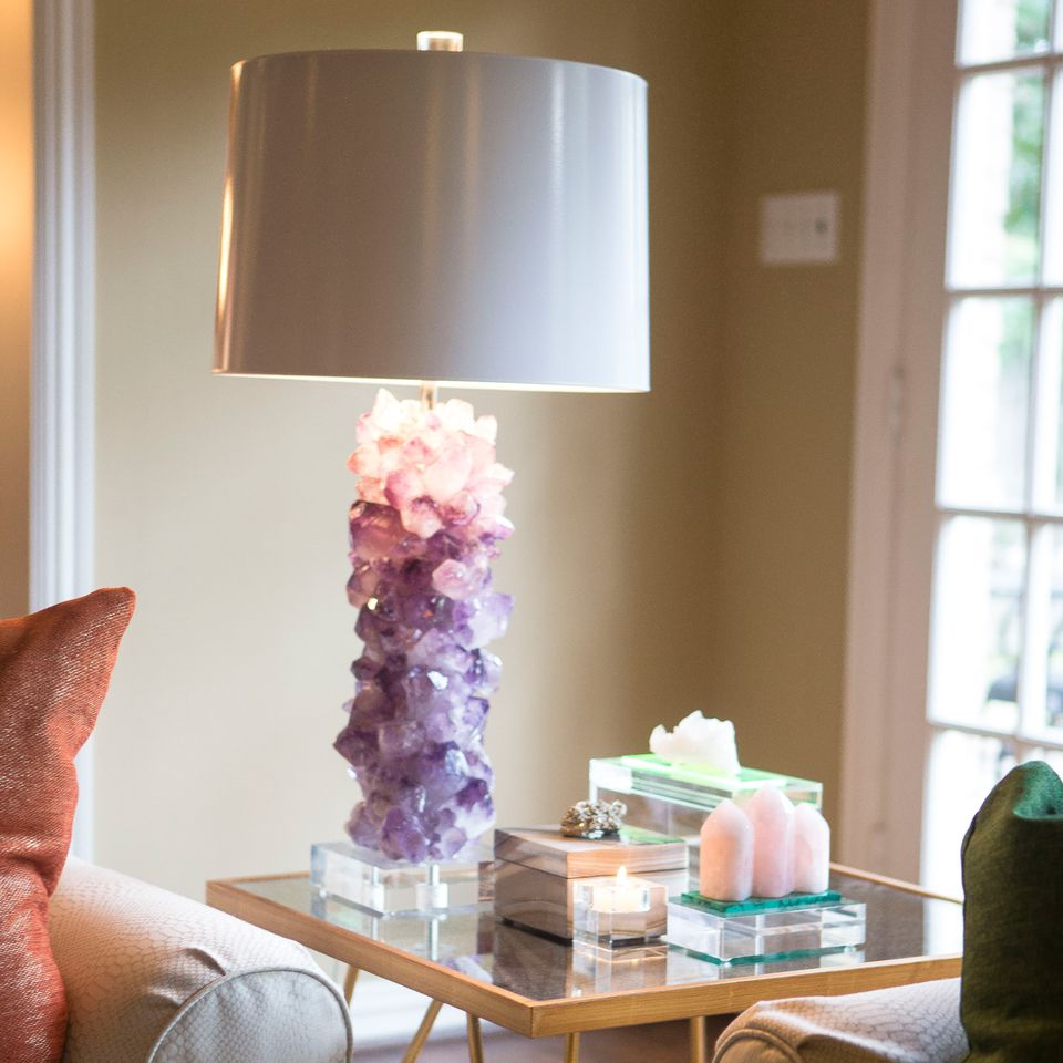 Four Ways To Better Interior Design Installations: 10 Chic Ways To Display Crystals