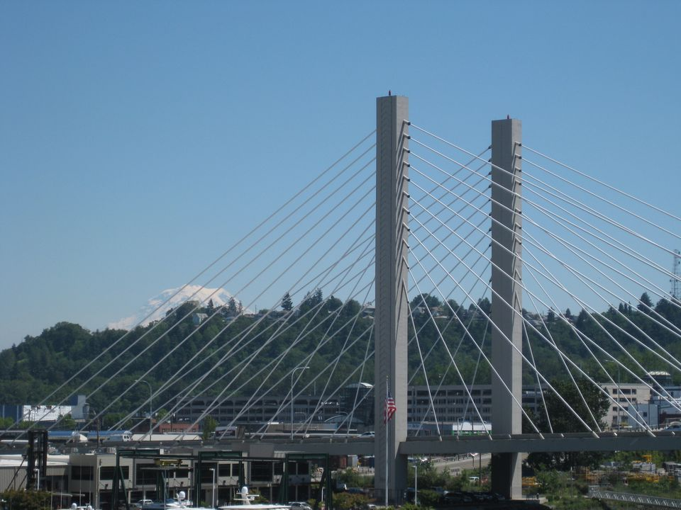 View from Downtown Tacoma